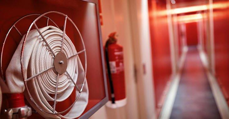6 ระบบดับเพลิงในอาคารและอุปกรณ์ดับเพลิงในอาคารเรือน